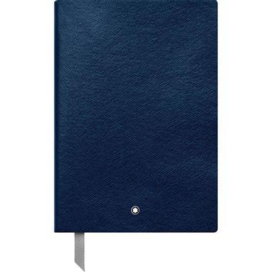 Montblanc-Fino-Material-de-Escritorio-Caderno-de-Apontamentos--146-Indigo-quadriculado