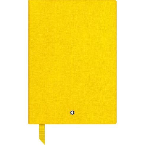 Caderno-de-Apontamentos--146-Montblanc-Fine-Stationery-amarelo-pautado
