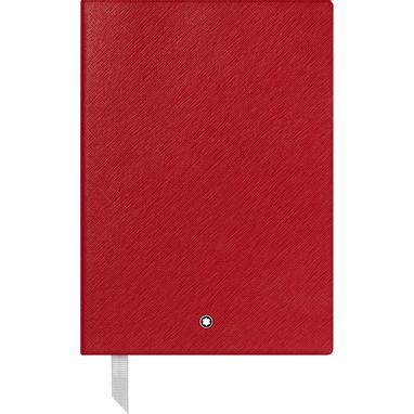 Caderno-de-Apontamentos--146-Montblanc-Fine-Stationery-vermelho-pautado