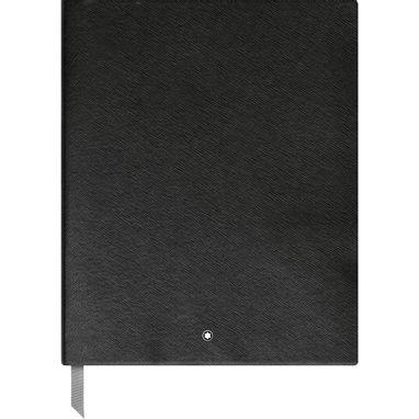 Montblanc-Fino-Material-de-Escritorio-Caderno-de-Desenho--149---Preto-com-linhas