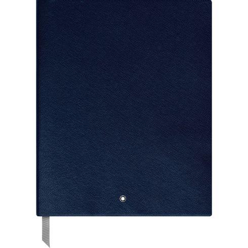 Montblanc-Fino-Material-de-Escritorio-Caderno-de-Desenho--149---Indigo-com-linhas