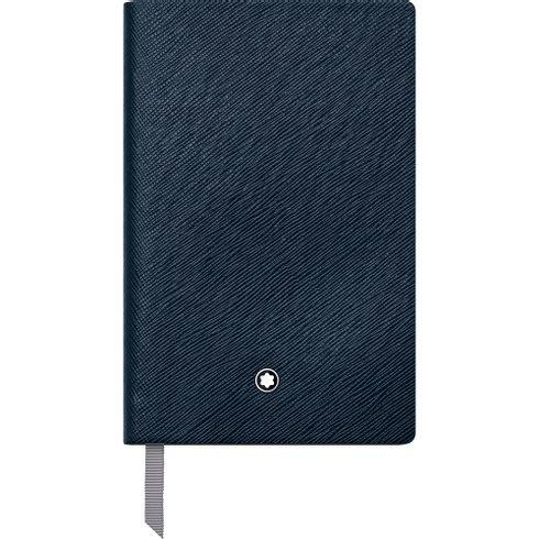 Caderno-de-anotacoes-Montblanc-Fine-Stationery--148--indigo-pautado