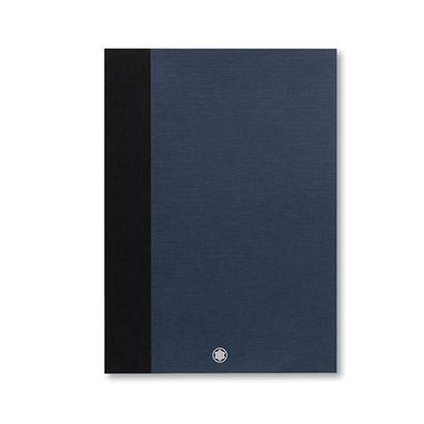 2-Cadernos-de-rascunho-Montblanc-Fine-Stationery-delgados-azuis-lisos-para-Augmented-Paper