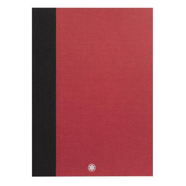 2-Cadernos-de-rascunho-Montblanc-Fine-Stationery-delgados-vermelhos-lisos-para-Augmented-Paper