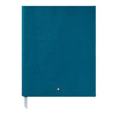 Caderno-de-rascunhos--149-Montblanc-Fine-Stationery-Petrol-Blue