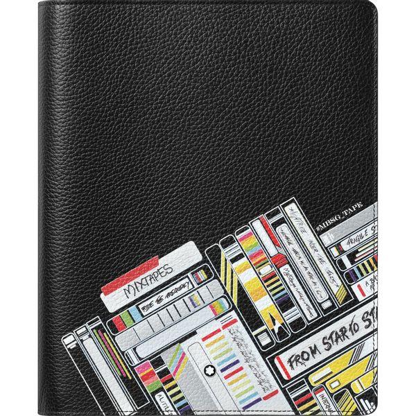 Porta-caderno-de-rascunhos-Meisterstuck-Soft-Grain-Mix-Tapes-tamanho-medio
