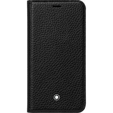Capa-flip-side-Meisterstuck-Soft-Grain-com-funcao-para-manter-em-pe-o-Apple-iPhone-XS