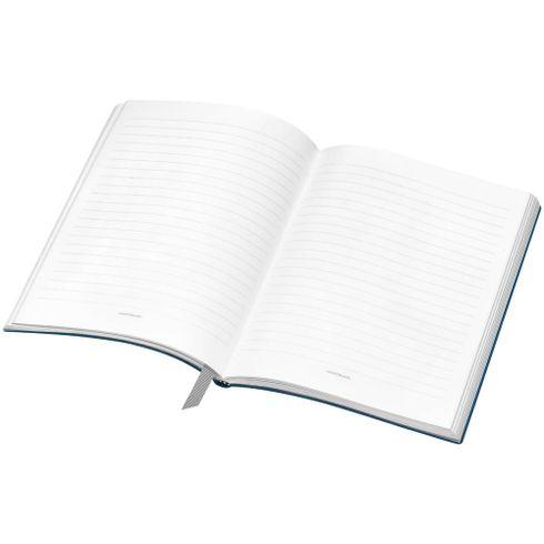 Montblanc-Fino-Material-de-Escritorio-Caderno-de-Apontamentos--146-Indigo-com-linhas