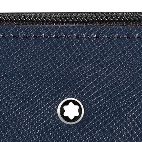 Estojo-Montblanc-Sartorial-Zip-Top para-2-canetas