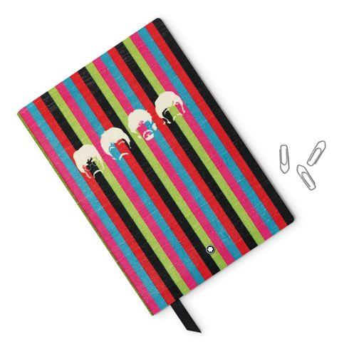 Caderno-de-Apontamentos--146-Fino-Material-de-Escritorio-Montblanc-The-Beatles-pautado