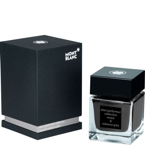 Frasco-de-tinta-50-ml-Elixir-Parfumeur-fragrancia-Wood---Tobacco-cinza