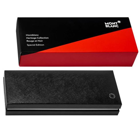 Caneta-tinteiro-Montblanc-Heritage-Collection-Rouge-et-Noir-Special-Edition