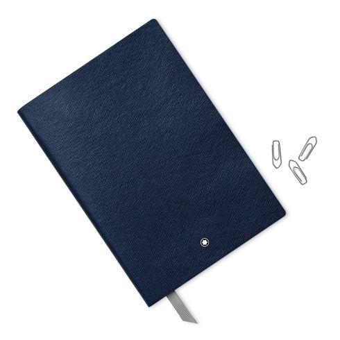 Caderno-de-Apontamentos--146-indigo-liso-Fino-Material-de-Escritorio-Montblanc