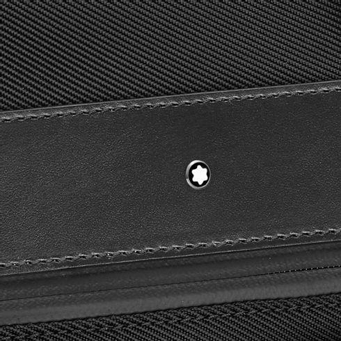 Bolsa-para-Documentos-My-Montblanc-Nightflight-tamanho-medio-com-2-bolsos-frontais