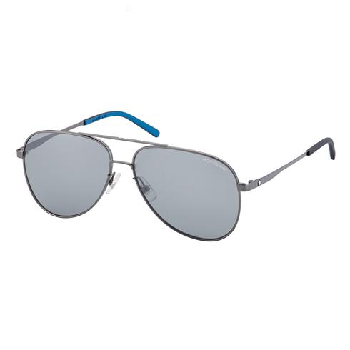 Oculos-de-sol-quadrados-com-armacao-em-metal-rutenio-Montblanc-126929_1