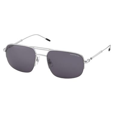 Oculos-de-sol-retangulares-com-armacao-em-metal-prateado-Meisterstuck-Montblanc_126922_1